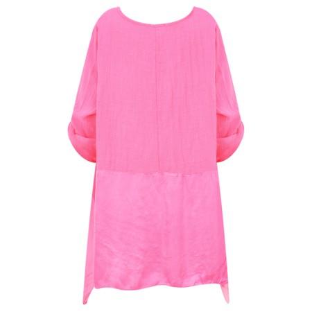 DECK Anya Easyfit Top - Pink