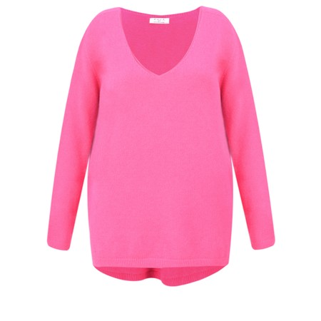 DECK Caitlin Supersoft Knit Jumper - Pink
