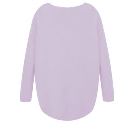 DECK Caitlin Supersoft Knit Jumper - Purple