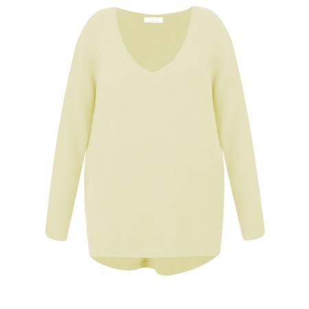 DECK Caitlin Supersoft Knit Jumper - Yellow