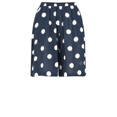 ICHI Marrakech Spot Shorts - Blue