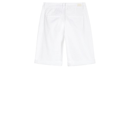 Sandwich Clothing Stretch Twill Casual Shorts - White