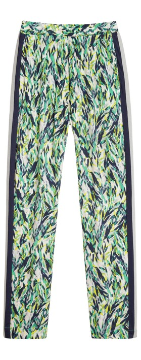 Sandwich Clothing Abstract Print Trousers Jolly Green