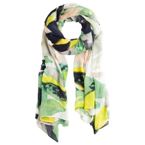 Sandwich Clothing Abstract Print Scarf