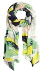 Sandwich Clothing Navy Abstract Print Scarf