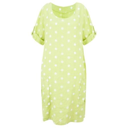 Arka Stella Dotty Easyfit Dress - Green