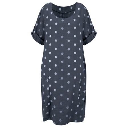 Arka Stella Dotty Easyfit Dress - Blue