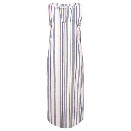Adini Sundae Stripe Sundae Dress - Off-White