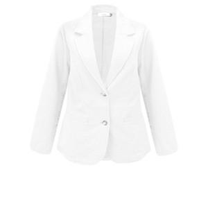 Adini Seersucker Solid Emmy Jacket