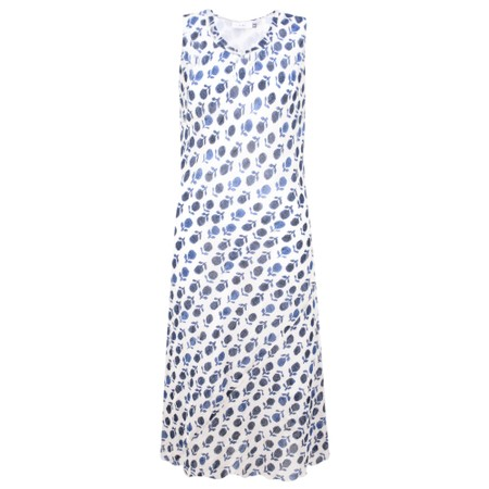 Adini Amber Print Amber Dress - Blue