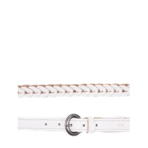Sandwich Clothing Leather Plait Belt