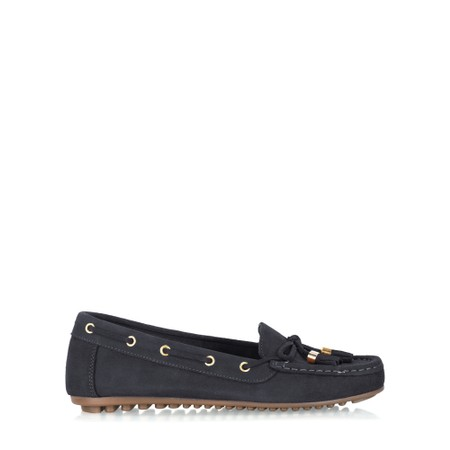 Gemini Label  Caro Tassel Loafer - Blue