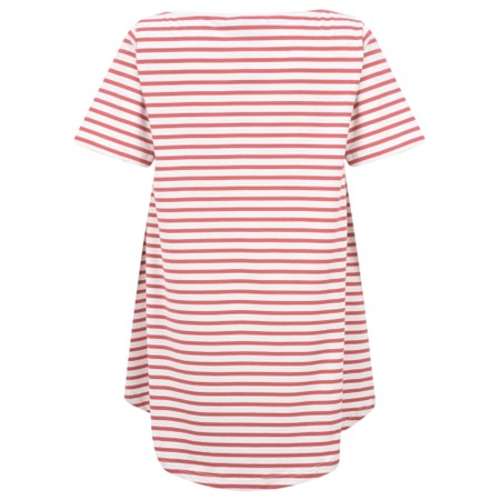 Mama B Ciprus Riga Stripe Top - Red