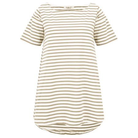 Mama B Ciprus Riga Stripe Top - Green