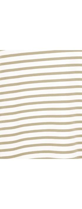 Mama B Ciprus Riga Stripe Top Spago/Osso