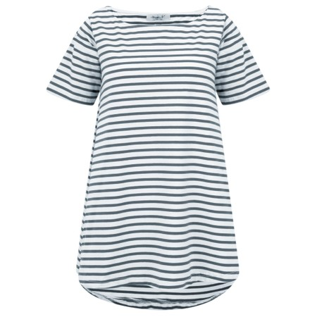 Mama B Ciprus Riga Stripe Top - Blue