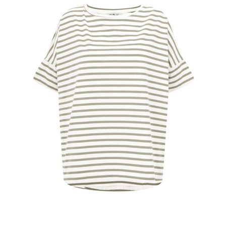 Mama B Frio Riga Stripe Top - Green