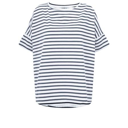 Mama B Frio Riga Stripe Top - Blue
