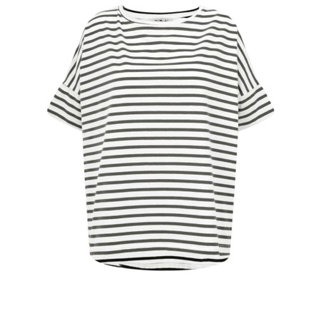 Mama B Frio Riga Stripe Top - Black