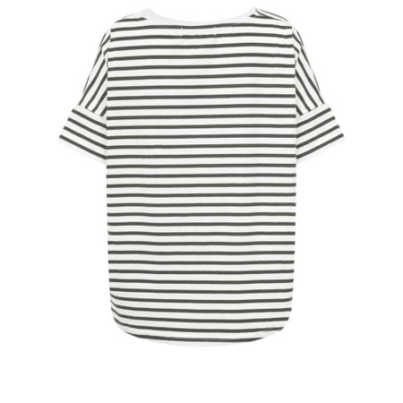 Mama B Frio Riga Stripe Top - Black