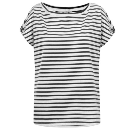 Mama B Nilo Riga Stripe Top - Black