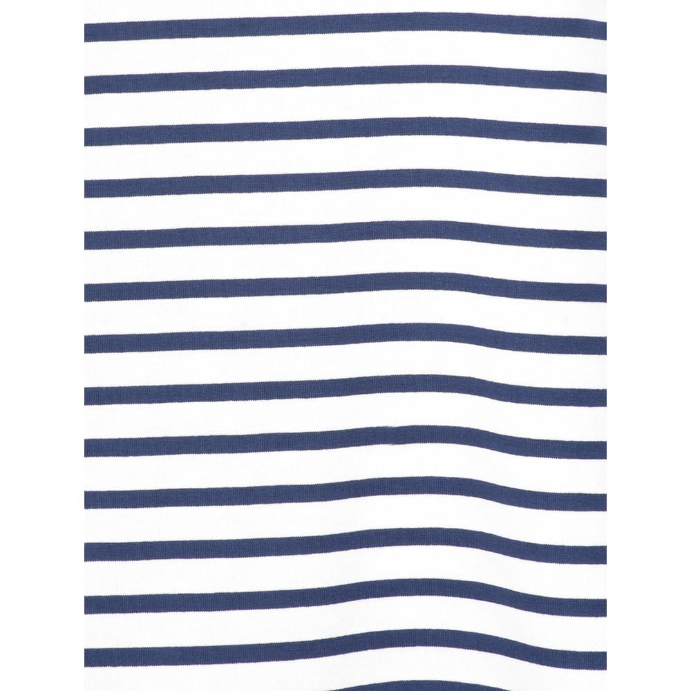 Chalk Tasha Stripe Top Navy