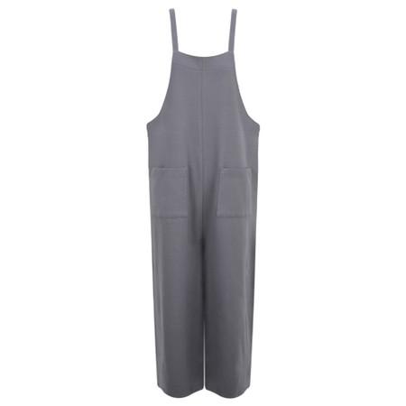 Chalk Jo Jersey Jumpsuit - Black