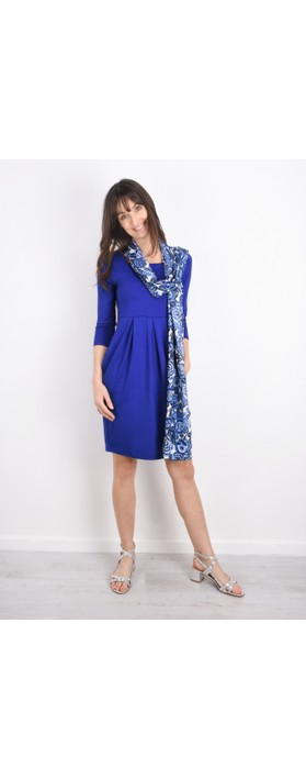 Masai Clothing Hope Tunic Dress Greek Blue