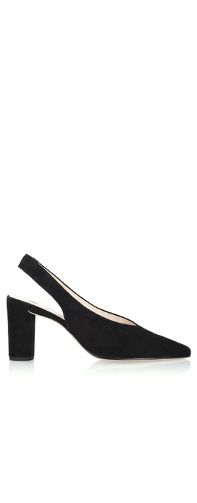 Hogl Ruth Block High Heel Shoe Schwarz