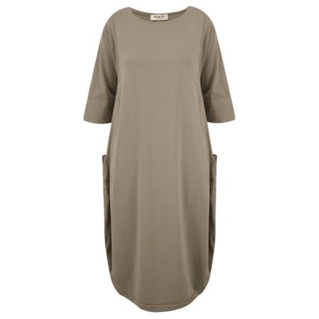 Mama B Golfo Izmir Plain Dress - Brown