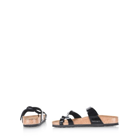 Birkenstock Mayari Birko Flo Sandals - Black
