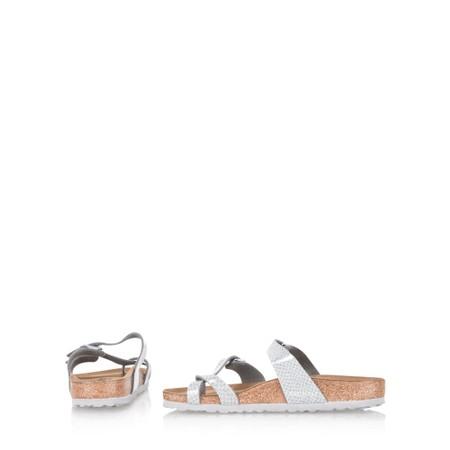 Birkenstock Mayari Birko Flo Sandals - Metallic