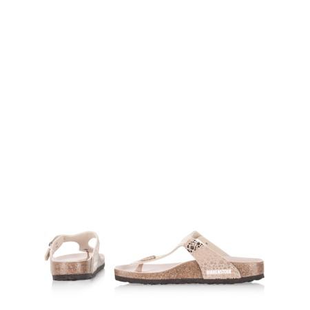 Birkenstock Gizeh Birko Flor Metallic Stone Sandal - Metallic