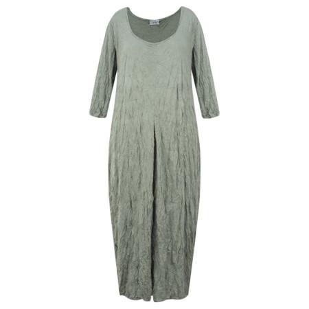 Thing Crinkle Easy Fit Dress - Beige