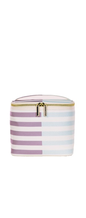 Kate Spade Two-Tone Stripe Lunch Tote Mint