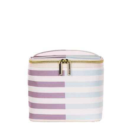 Kate Spade Two-Tone Stripe Lunch Tote - Green