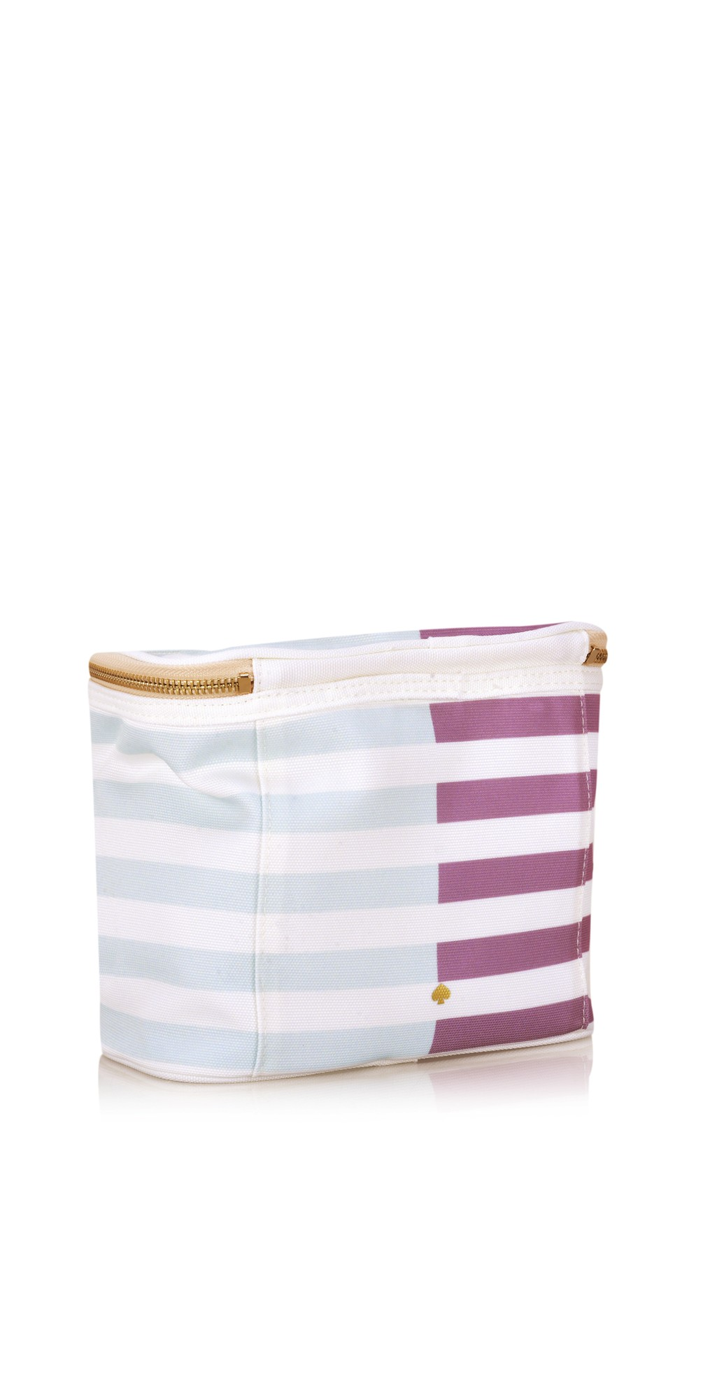Two-Tone Stripe Lunch Tote main image
