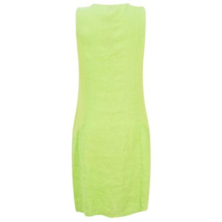 DECK Neivey Linen Dress - Green