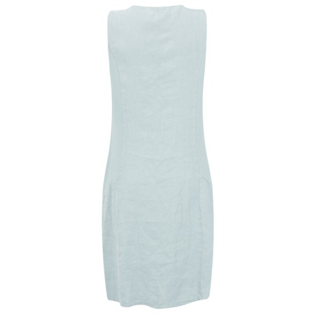 DECK Neivey Linen Dress - Blue
