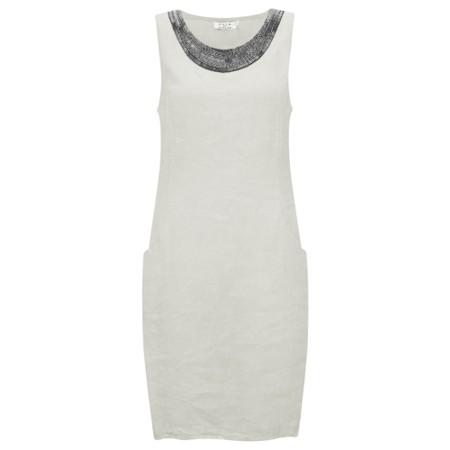DECK Neivey Linen Dress - Beige