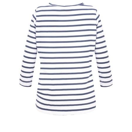 Luella Lyla Stripe T-Shirt - White