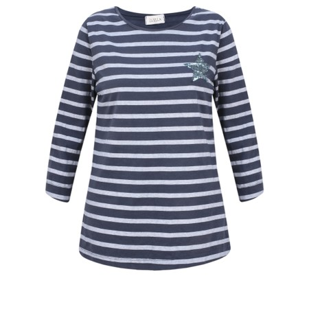 Luella Lyla Stripe T-Shirt - Blue