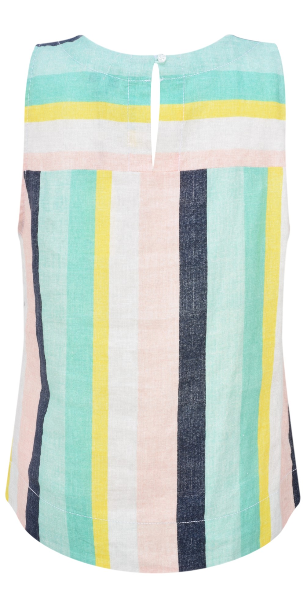 Bold Stripe Linen Top main image