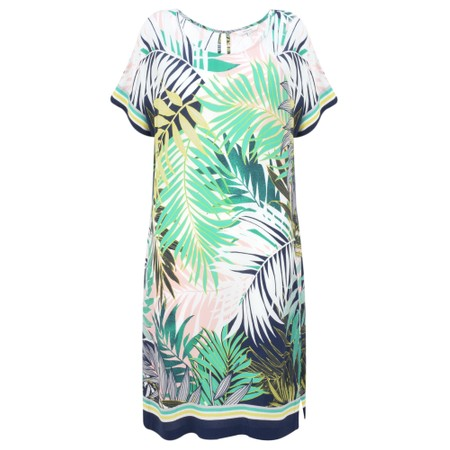 Sandwich Clothing Palm Leaf Jungle Dress - Green