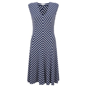 Sandwich Clothing Striped Jersey Dress