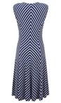 Sandwich Clothing Navy Striped Jersey Dress