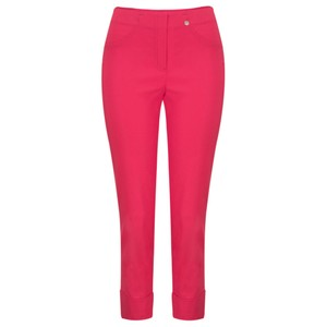Robell  Bella 09 Raspberry Ankle Length 7/8 Cuff Trouser