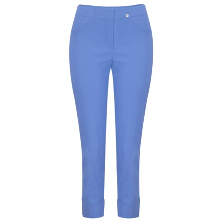 Robell Trousers Bella 09 Ankle Length 7/8 Cuff Trouser - Blue