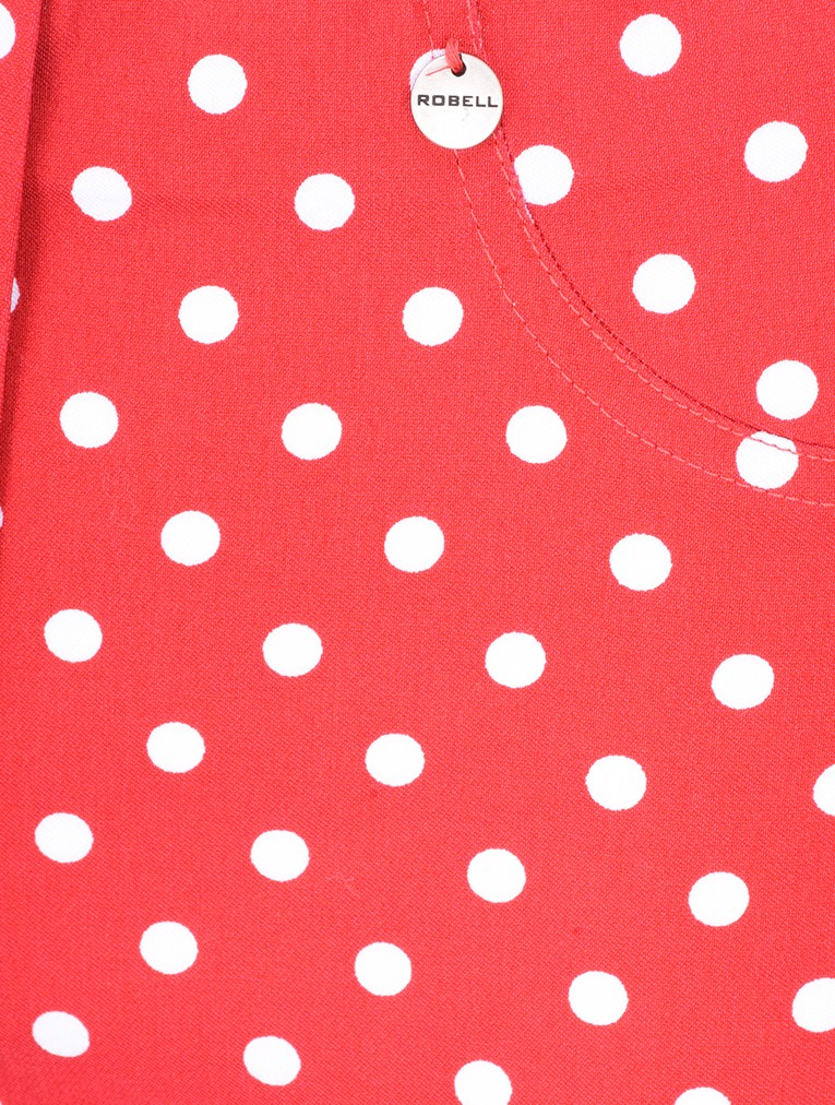 Bella 09 Polka Dot Print Trouser main image