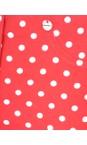 Robell Trousers Red Bella 09 Polka Dot Print Trouser